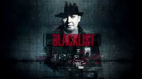 blacklist tv series title sequence youtube