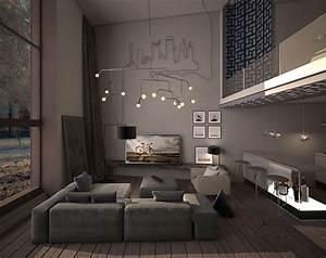 15 dark living room decorating ideas roohome designs for Interior decorating dark rooms