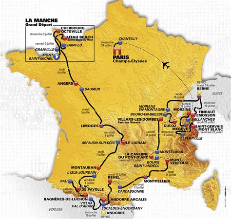 A work in progress for 2021 tour de france live and delayed coverage. Tour de France 2016 - die Strecke