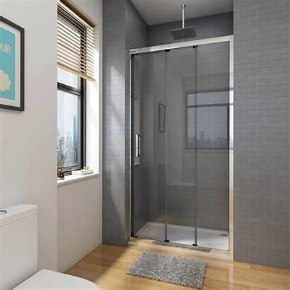 Shower Door Panel Sliding Wall Enclosure Entry