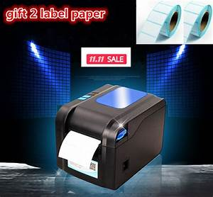 2016 new gift2 labels paper370b label printer clothing With clothing price tag printer