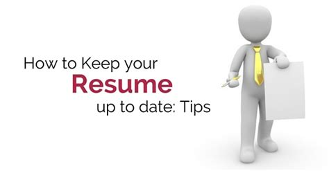 get your resume updated