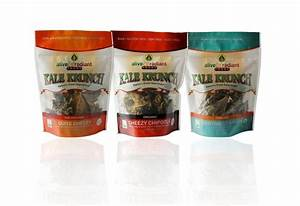ALIVE & RADIANT ORGANIC KALE CHIPS - Brand & Packaging by ...
