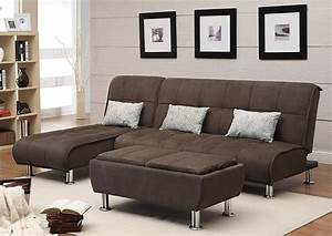 Nulook furniture chaise end sectional sofa bed for Chaise end sectional sofa bed