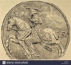 John of Bohemia or John the Blind (1296-1346). Count of Luxembourg Stock Photo, Royalty Free ...