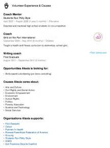 resume with volunteer experience template resume volunteer experience