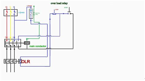 contactor wiring diagram wiring diagram and schematics
