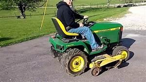 Bigiron Auctions- John Deere 455 Lawn Tractor