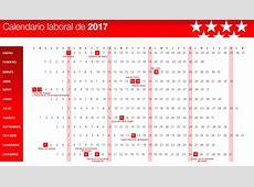 Aprobado el calendario laboral de 2017 Madridiario