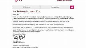 Gefälschte Telekom Rechnung Per Post : viren in falschen mails netzwelt ~ Themetempest.com Abrechnung