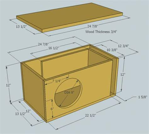 subwoofer box design tuning freq ecoustics