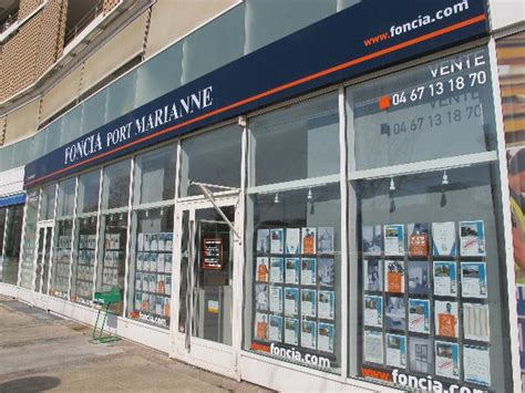 agence immobili 232 re montpellier 34000 foncia transaction port marianne 52 rue syracuse