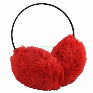 Winter Women Fluffy Faux Fur Earmuffs Ear Warmer Ear Muffs ...