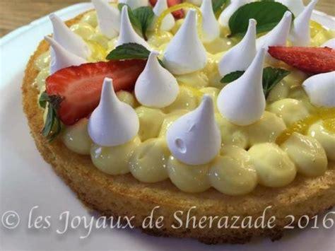 cuisine de sherazade tarte au citron meringuée revisitée les joyaux de sherazade