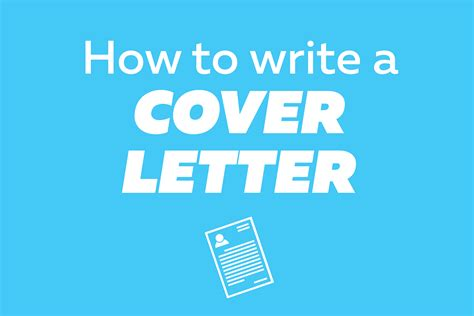 write  cover letter