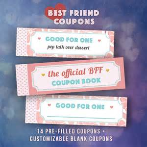 Coupon Best Friend Birthday Gifts