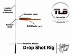Dropshot Rig Diagram   Lure Fishing Technique   The Lure ...