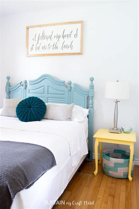beach themed bedrooms lakeside room reveal sustain