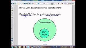 Write The Conditional Statement That The Venn Diagram