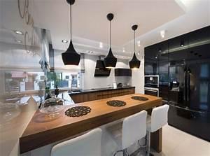 davausnet cuisine fermee design avec des idees With cuisine et amenagement