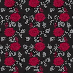 Black Chrysanthemum Flower Self Adhesive Wallpapers ...