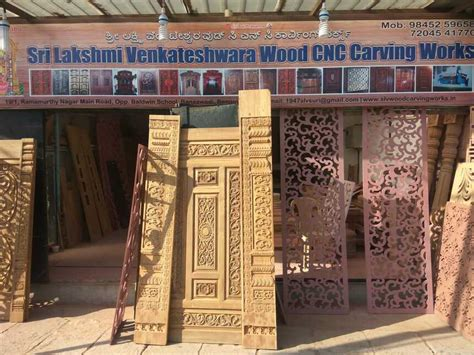sri lakshmi venkateshwara wood carving works  bangalore