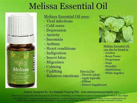melissa living essentials oils
