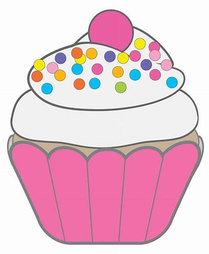 Cupcake Cake Clip Clipart Happy Drawing Birthday