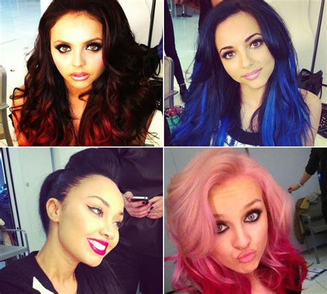 Little Mix Join The Coloured Hair Trend