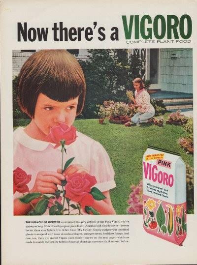 vigoro plant food ad miracle  growth