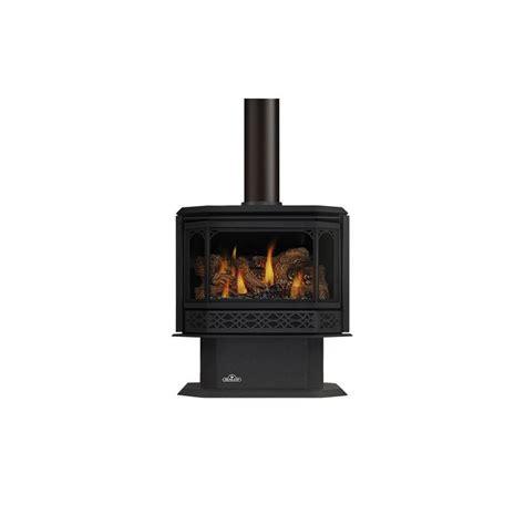 Napoleon Gas Fireplace Blower by Napoleon Gds50 1nsb Black 44000 Btu Free Standing Direct