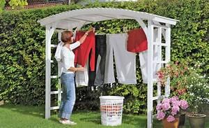 Wäscheständer Für Balkon : w schest nder mal anders wir haben einen h bsche laube f r den garten gebaut die als ~ Sanjose-hotels-ca.com Haus und Dekorationen