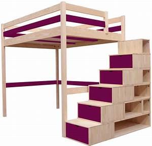lit mezzanine enfant choix et prix avec le guide d39achat With peindre un escalier en bois brut 9 lit enfant cabane en bois avec escalier