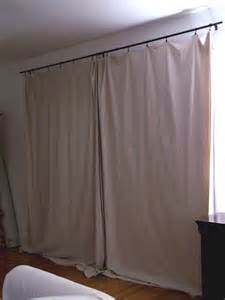 green and frugal decorating ideas my inexpensive curtains repurposing canvas drop cloths