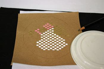 funezcrafts easy angel crafts woven paper angel