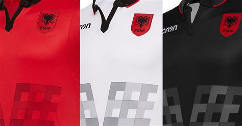 albania home kits released footy headlines