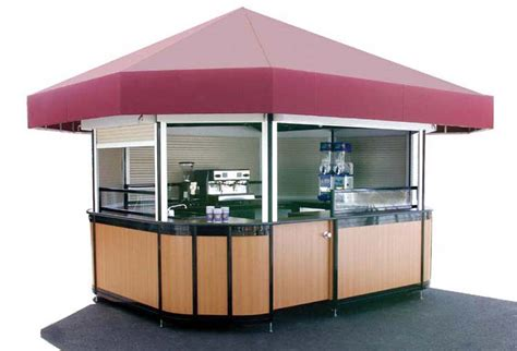 Outdoor Kiosks, Cofee And Food And Beverage Kiosks