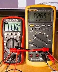Mäta diod med multimeter
