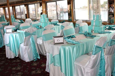 Tiffany Blue Wedding Reception Table Wear Was