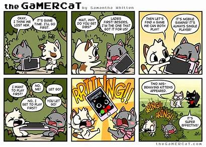 Gamercat Cat Comics Thegamercat Gamer Funny Pokemon