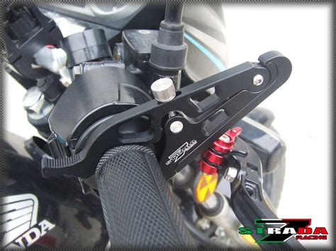 Strada 7 Motorcycle Cruise Control Throttle Lock System