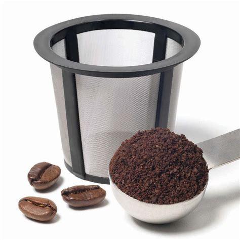 4 pack reusable coffee refillable filter pods for keurig elite. Keurig My K-Cup Reusable Coffee Filters (Pack of 2 ...