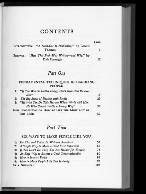 page  tables  contents