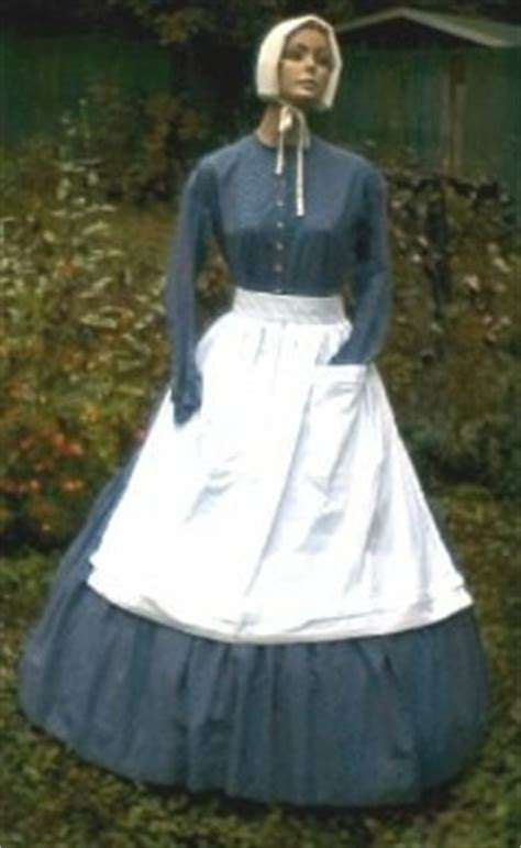 century  ladies work dresses