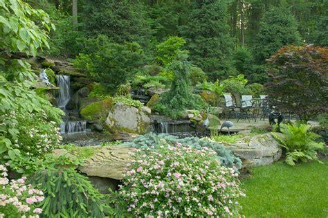 waterfalls landscaping waterfall landscaping waterfalls