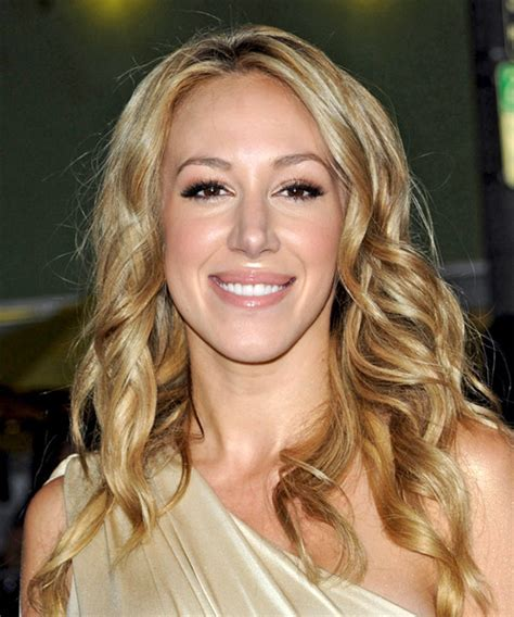 Haylie Duff Long Wavy Formal Hairstyle   Medium Blonde