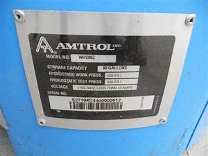Amtrol Wh-7ldw Leak Issue