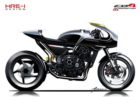 New 2019 Honda Cb4 Interceptor Concept Motorcycle Unveiled