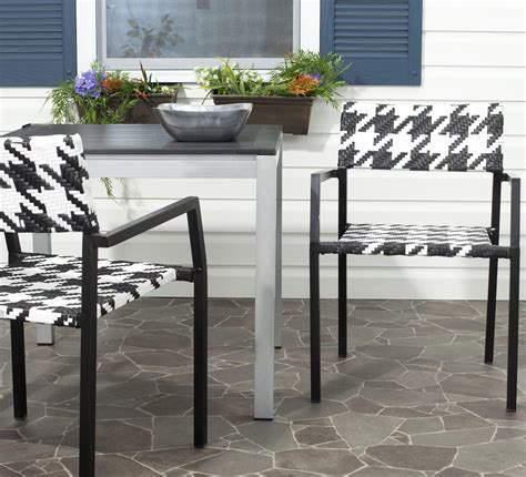 Safavieh Home Furniture by Pat4001a Set2 Outdoor Home Furnishings Patio Chairs