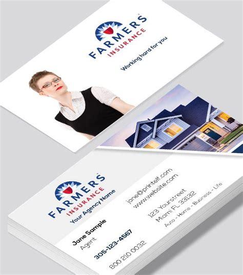 farmers insurance home business card modern design